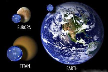 La luna Europa tiene el doble de agua que la Tierra y Titán hasta 11 veces más en forma líquida