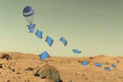 Una 'alfombra de Aladino' llevará docenas de robots a la superficie de mundos alienígenas