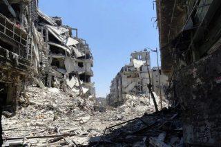 Estalla un misil contra una iglesia en Alepo
