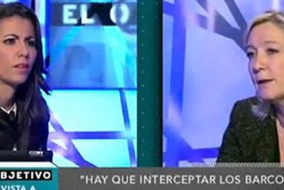 "Girauta (ABC) elogia el ""don de la impertinencia"" de Ana Pastor con Le Pen"