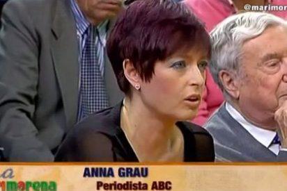 """[VÍDEO] La colaboradora de TV3 Anna Grau denuncia a la televisión pública catalana: """"Vale todo: utilizar niños, lenguaje bélico"""""""