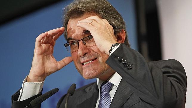 """Artur Mas: """"Desgraciadamente, estamos luchando contra el Estado español"""""""