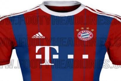 Las próximas camisetas del Bayern