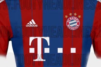 Filtran la camiseta del Bayern de Guardiola para la próxima temporada
