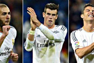 La 'BBC' del Real Madrid ha marcado sóla más goles que 16 equipos de Primera División