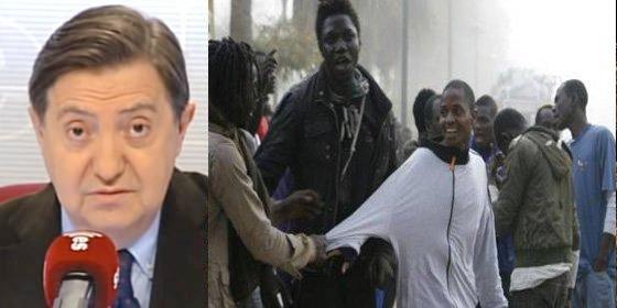 """Losantos sobre los inmigrantes de Melilla: """"No hay ningún niño desnutrido con moscas, son todos unos bigardos Masái de anuncio"""""""