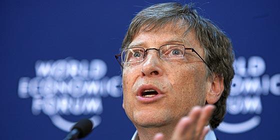 Bill Gates baja del podio del hombre más rico del mundo al magnate Slim y 'se hace con el oro'