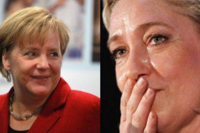 ¿Lleva Merkel una foto de Le Pen en el bolso? Alemania echará a los inmigrantes que no trabajen