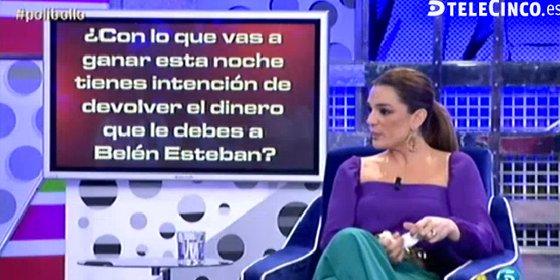 """El polígrafo que demuestra que Raquel Bollo no tiene ni amigos ni dinero: """"Has traicionado a Belén Esteban"""""""