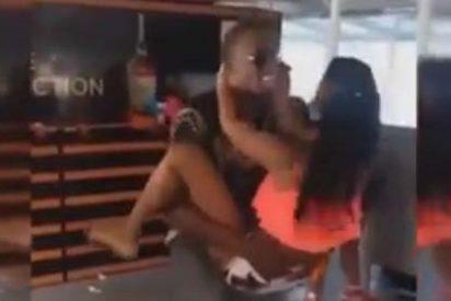 Usain Bolt se desmadra en Trinidad