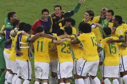 El niño espontaneo que se lo pasa en grande con Brasil
