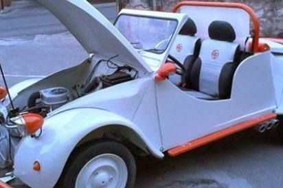 Un alumno construye un 'Buggi Citroën 2 cv' como Proyecto Final de Carrera