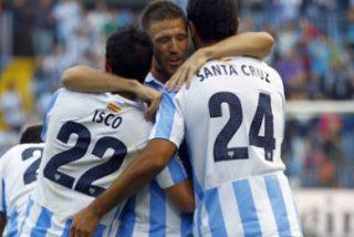 Un jugador del Málaga 'pasa' del Arsenal y del Liverpool