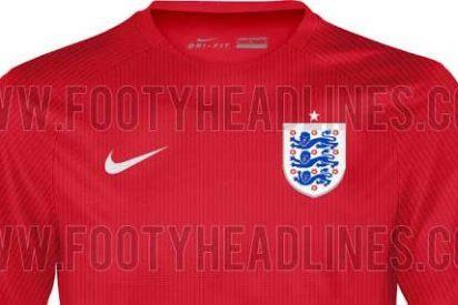 Así será la segunda equipación de Inglaterra para el Mundial