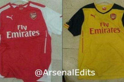 Filtran las equipaciones del Arsenal