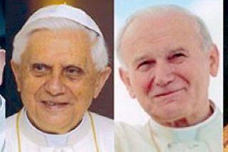 El día de los cuatro papas en San Pedro
