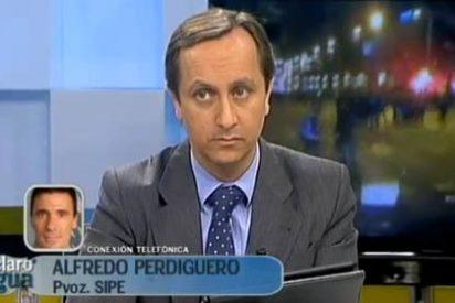"""Carlos Cuesta: """"Al Gobierno le da miedo la foto de un policía arreando a alguien que se salta la ley"""""""