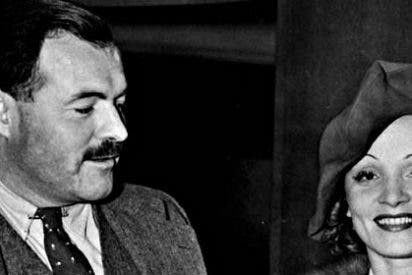 """Ernest Hemingway a Marlene Dietrich en una carta: """"Te imagino borracha y desnuda"""""""