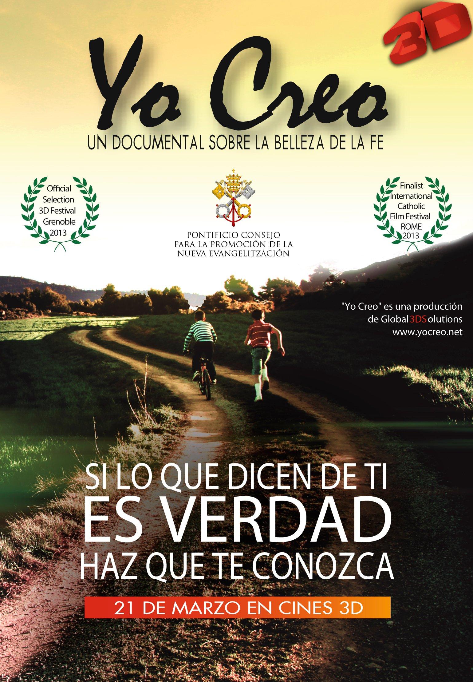 Documental español en 3D sobre el Credo