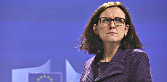 Cecilia Malmström: su ignorancia sobre la valla delata a la comisaria azote de la Guardia Civil
