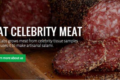 ¡Póngame cuarto y mitad de Angelina Jolie! Una empresa venderá salami elaborado con carne de famosos