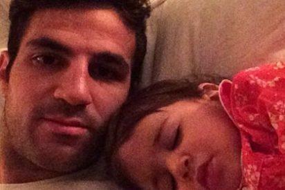 Se le cae la baba con su hija en Instagram
