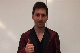 Messi no deja indiferente a nadie con su nueva chaqueta