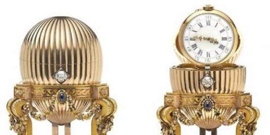 Un chatarrero encuentra un huevo Fabergé de la corte imperial rusa valorado en 23 millones