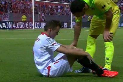 Pide perdón al Sevilla por su bajo rendimiento