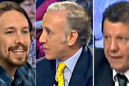 Alfonso Rojo recomienda a Pablo Iglesias que se de una ducha porque le hace falta