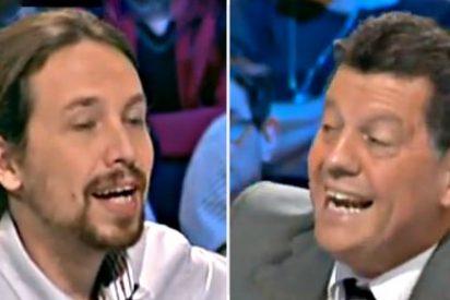 """Alfonso Rojo a Pablo Iglesias: """"¿Pero cobras o no cobras 320.000 euros de la Venezuela chavista?"""""""