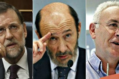 Alfredo Pérez Rubalcaba no compite con Mariano Rajoy sino con Cayo Lara