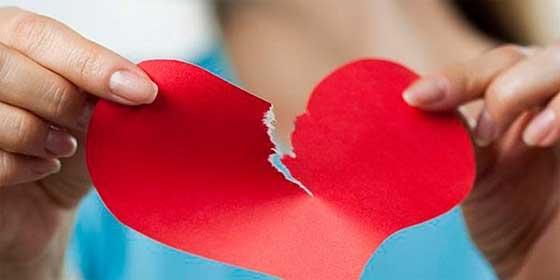 La muerte de la pareja nos rompe literalmente el corazón, y nos deja al borde del infarto