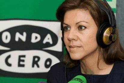 """María Dolores de Cospedal: """"Diremos el candidato a las europeas a la vuelta de Dublín"""""""