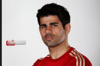Así luce Diego Costa 'La Roja'