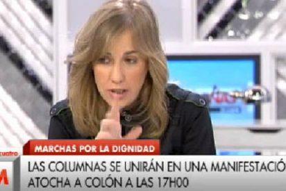 Tania Sánchez dice que la violencia no la genera la izquierda sino policías infiltrados