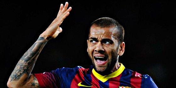 La 'rajada' de Dani Alves contra la afición del Barcelona tras la humillante derrota en Valladolid