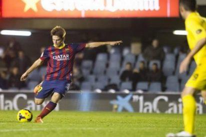 Tras perder a Rafinha, el Celta irá a por otra de las promesas del Barcelona