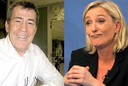 ¡Fuerza y honor!: Sánchez Dragó se ofrece a Marine Le Pen