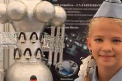 Una niña rusa inventa una nave galáctica, con capacidad de 500 personas, para explorar y escapar a otros planetas