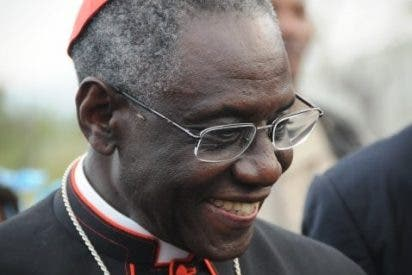 El cardenal Sarah, de misión en Guatemala