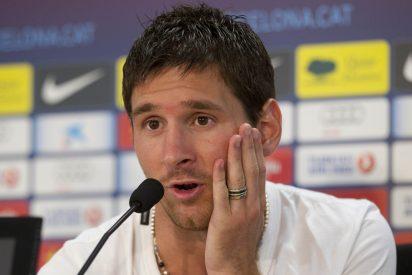 """Messi: """"No sé que me pasa. También vomito en mi casa"""""""