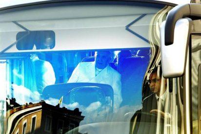 El Papa se va de Ejercicios espirituales en autobús