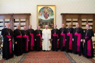 """El Papa recuerda a los obispos españoles que """"también la grey que le ha sido encomendada tiene olfato para las cosas de Dios"""""""