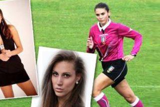 El árbitro más sexy del fútbol italiano