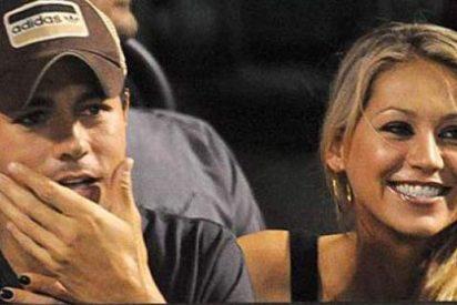 A Enrique Iglesias no siempre se levanta con la Kournikova