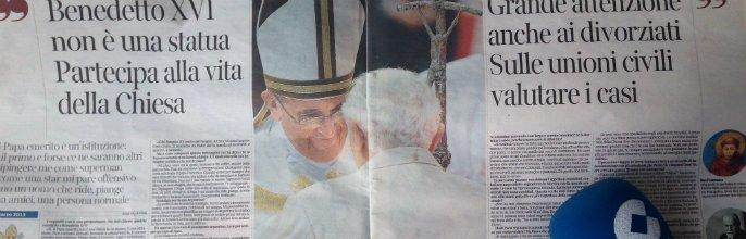 """Francisco al Corriere: """"Les cuento mi primer año de Papa"""""""