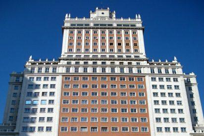 Un empresario chino le lavará la cara al emblemático Edificio España a base de 'restregarle' millones