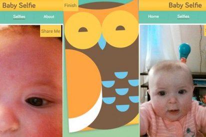 Los bebés más chulos ya se pueden hacer 'selfies' desde la cuna a su antojo
