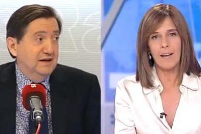 """Federico Jiménez Losantos contra el """"rojerío"""" en TVE: """"Tras dos años de Rajoy ahí sigue la socialista Ana Blanco"""""""